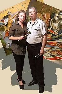 Вера Васильевна Донская-Хилько и Геннадий Хилько